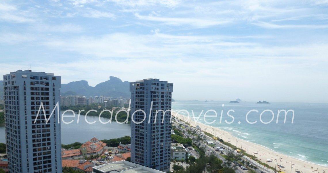 Cobertura Duplex, 4 Quartos (2 Suítes), Sernambetiba, Venda