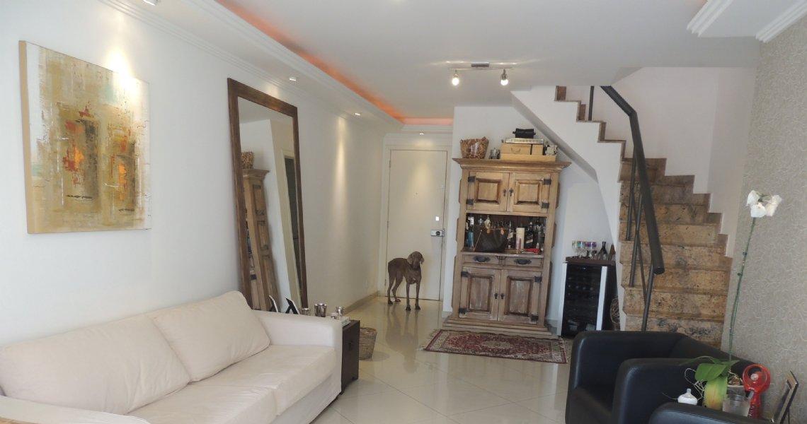 Cobertura Duplex, 3 Quartos (1 suíte), Recreio, Venda