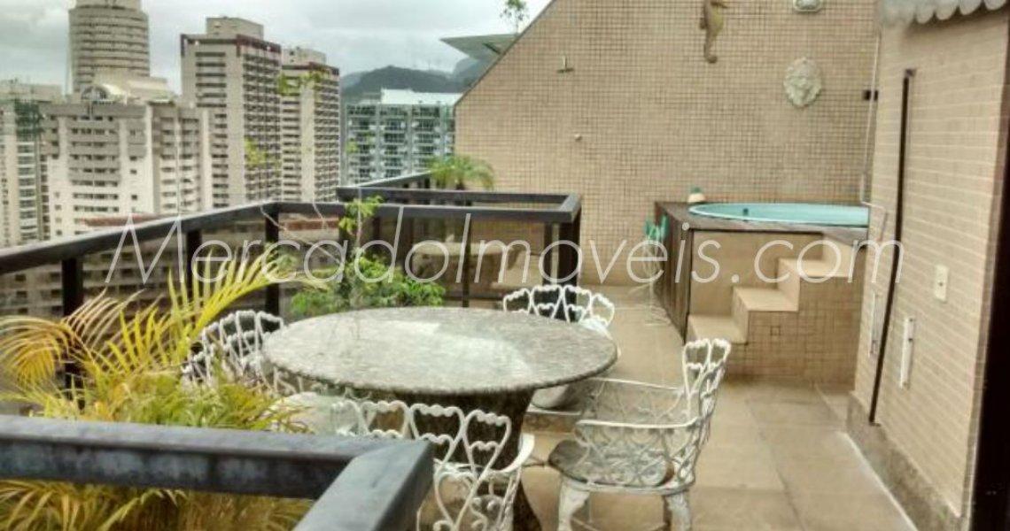 Cobertura Duplex, 2 Quartos (suítes), Barra, Venda