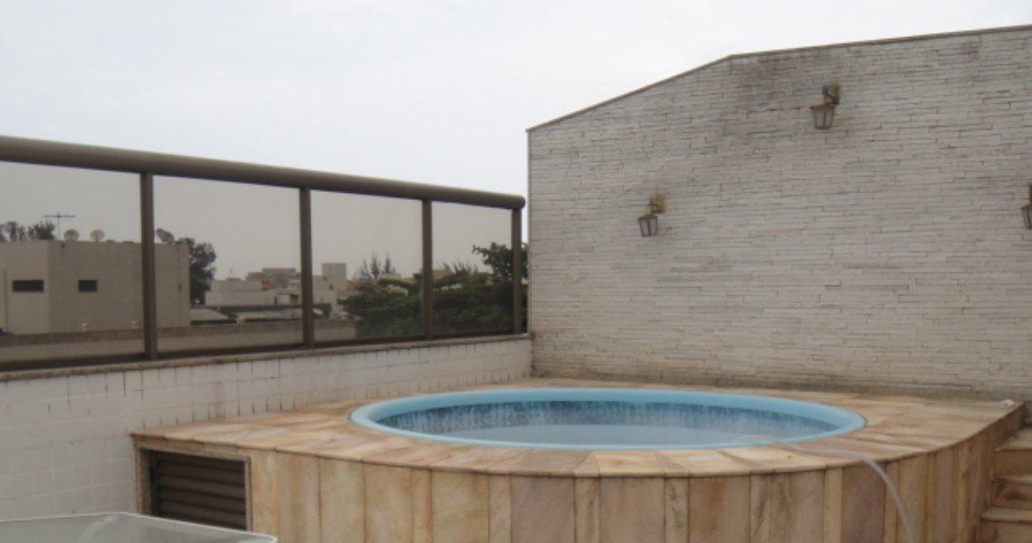 Cobertura, 3 Quartos (suítes), Recreio, Venda