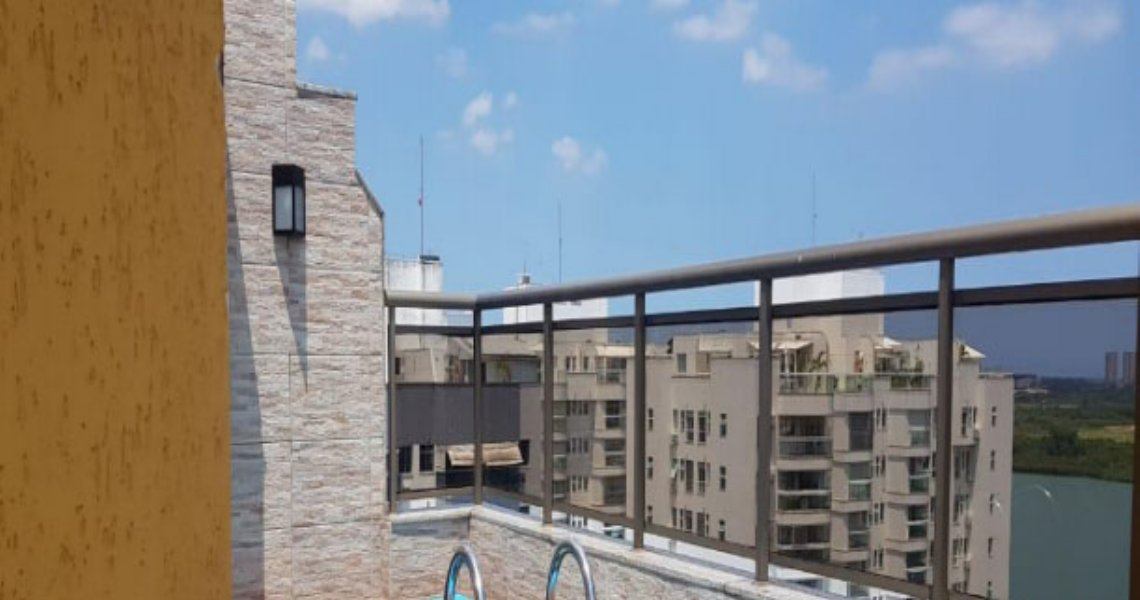 Cobertura Duplex, 3 Quartos (2 suítes), Barra, Venda